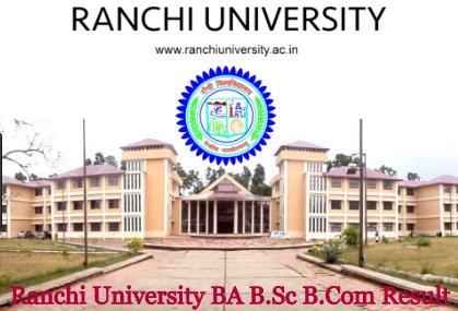 Ranchi University Result 2021