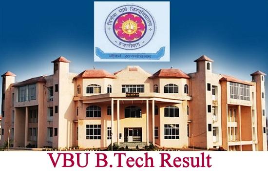 VBU B.Tech Result 2021