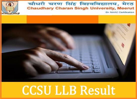CCSU LLB Result 2021