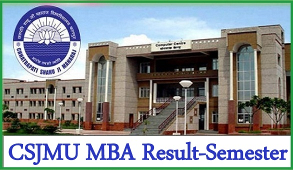 CSJMU MBA Result 2021