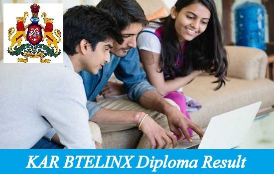 KAR BTELINX Diploma Result