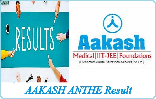 AAKASH ANTHE Result