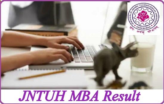 JNTUH MBA Result 2021