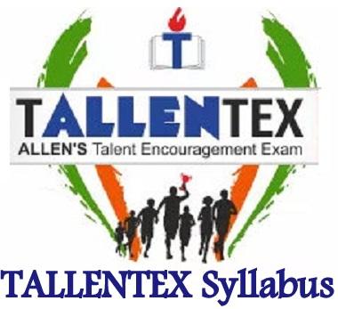 TALLENTEX 2022 Syllabus
