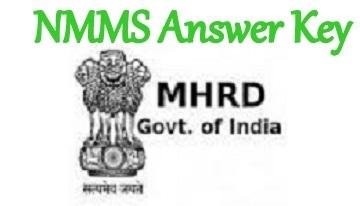 NMMS Answer Key
