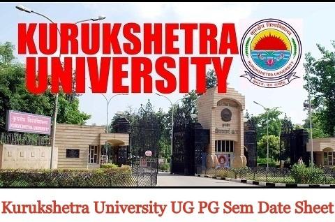 kurukshetra University UG PG Sem Date Sheet