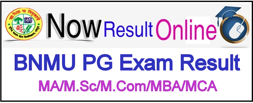 BNMU PG Exam Result