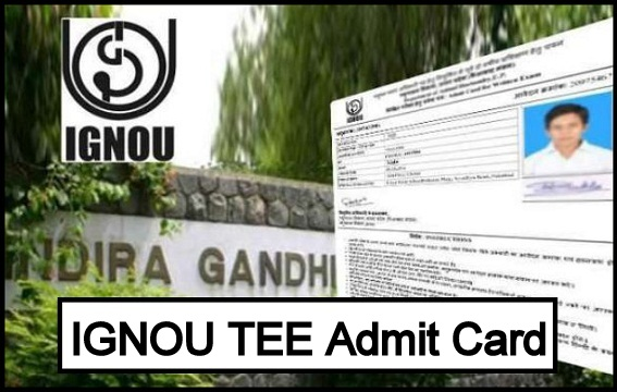 IGNOU Admit Card August 2021
