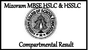Mizoram MBSE HSLC & HSSLC Compartmental Result