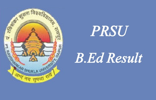 PRSU BEd Result 2020