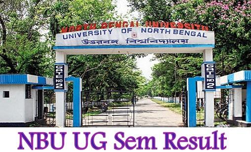 NBU UG Sem Result 2020