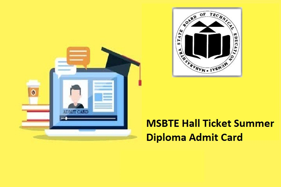 MSBTE Hall Ticket Summer 2021