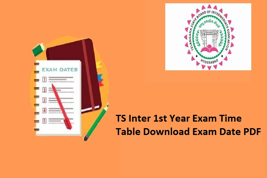 TS Inter 1st Year Time Table 2021