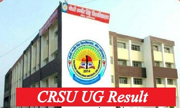 CRSU UG Result