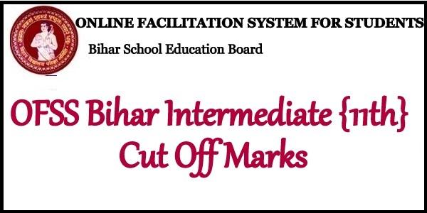 OFSS Bihar Intermediate Merit List 2020
