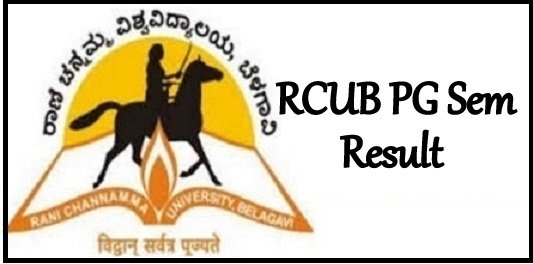 RCUB PG Result 2021