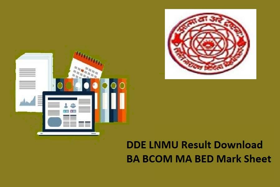 DDE LNMU Result 2020