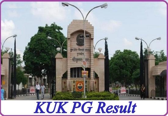 KUK PG Result 2020