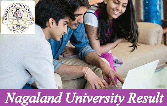Nagaland University Result 2021