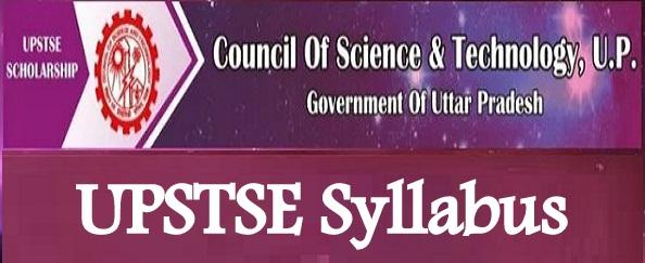 UPSTSE Syllabus 2019