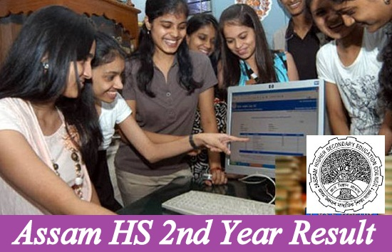 Assam HS 2nd Year Result