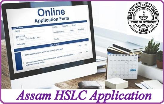 Assam HSLC Application