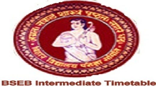 BSEB Intermediate Science Time Table 2020
