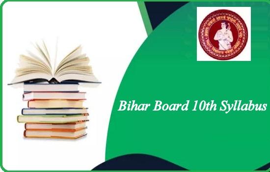 Bihar Board 10th Syllabus 2022