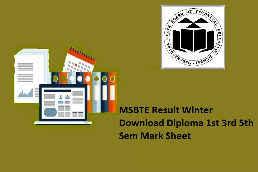MSBTE Result WInter 2021