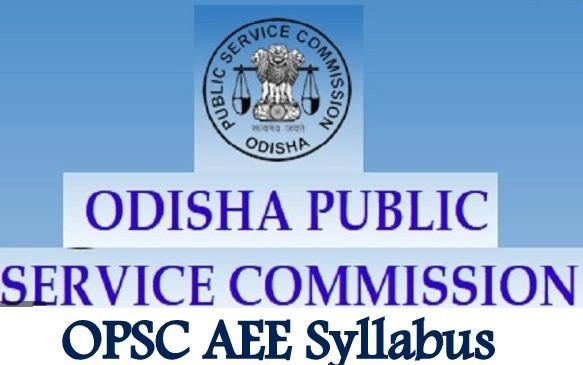 OPSC AEE Syllabus
