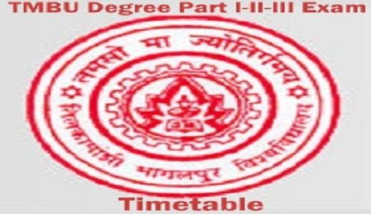 TMBU Exam Date 2021