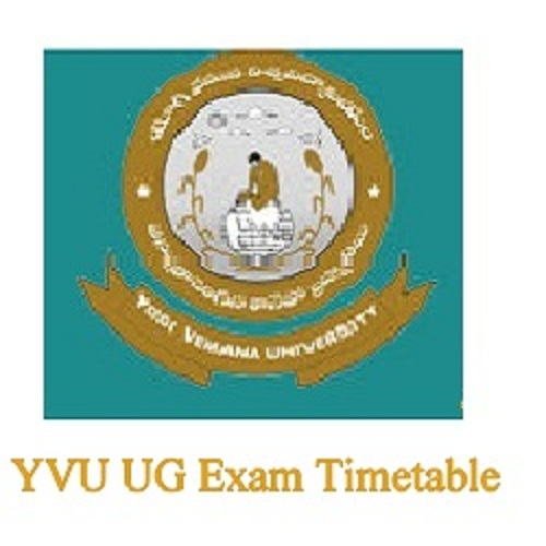 yvu degree exam time table 2019