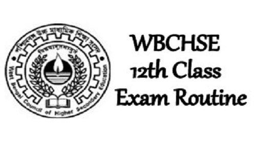WB HS Exam Routine 2021