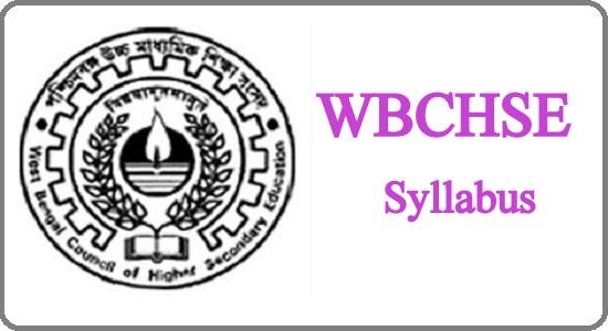 WBCHSE Syllabus 2022