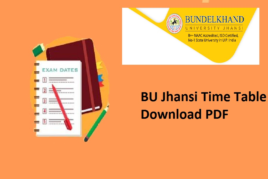 BU Jhansi Time Table 2021