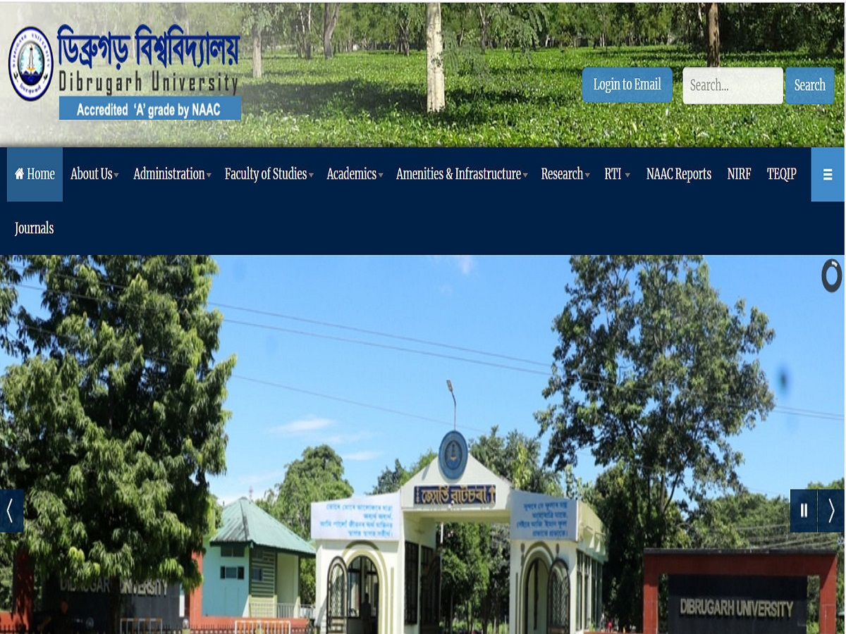Dibrugarh University Routine 2020