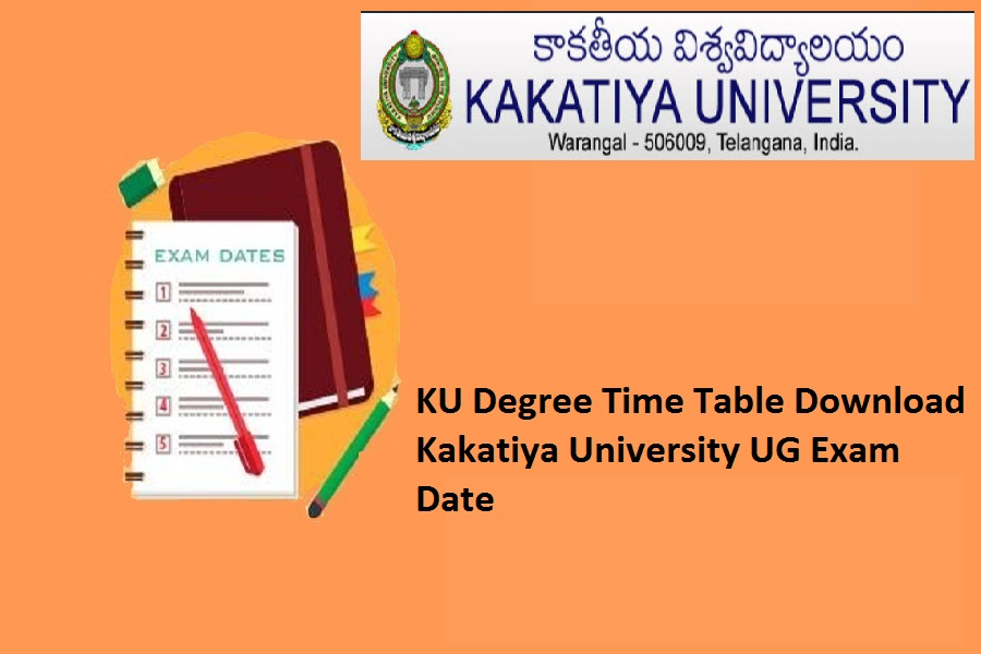 KU Degree Time Table 2021