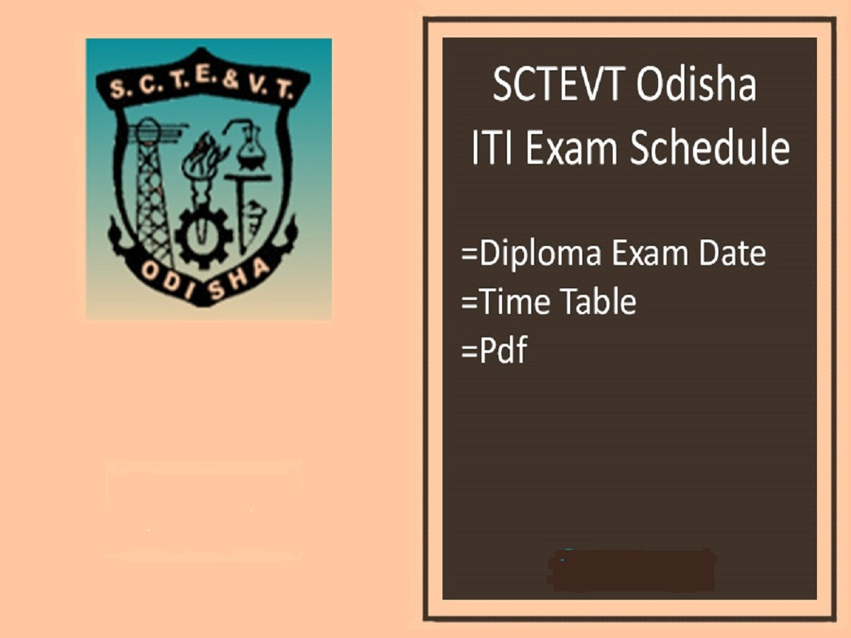 SCTEVT Time Table 2020