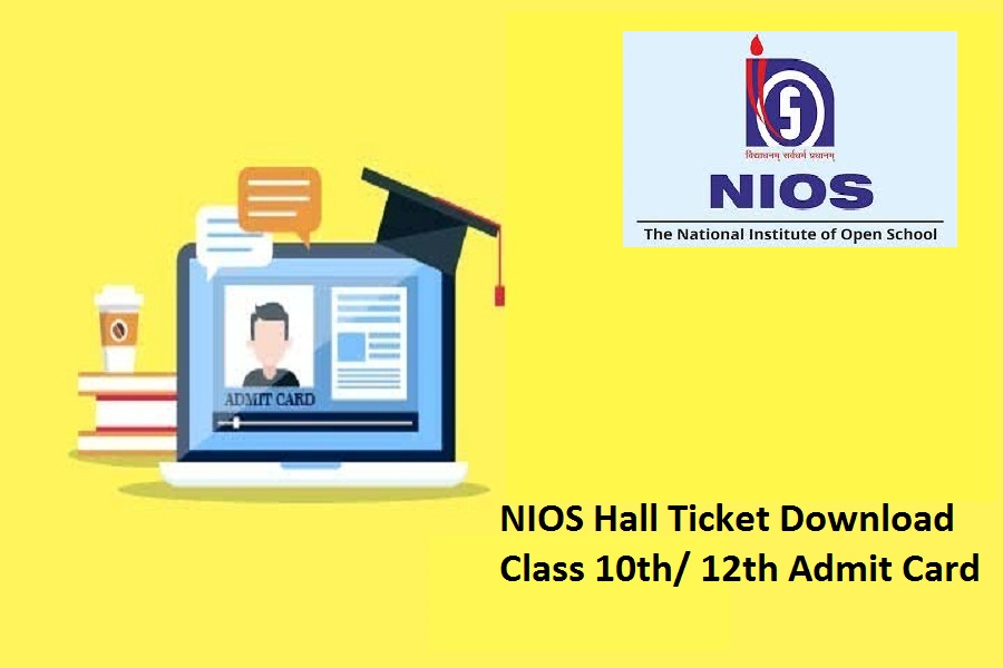 NIOS Hall Ticket 2021