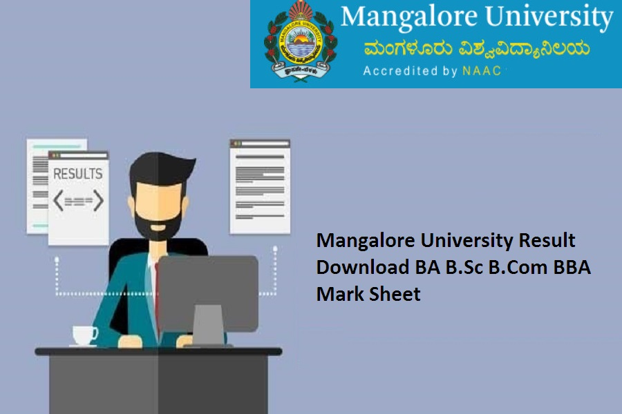 Mangalore University Degree Result 2021