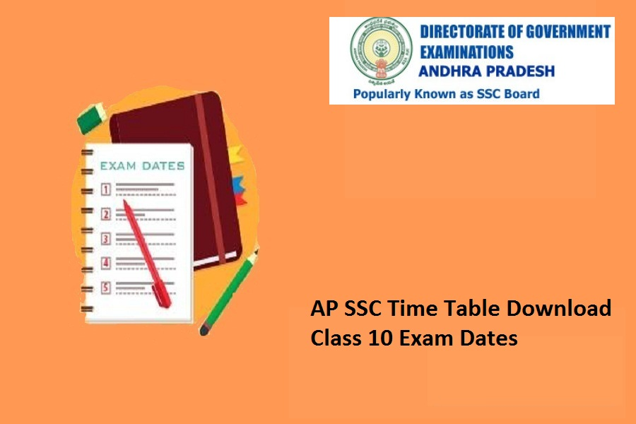 AP SSC Time Table 2022