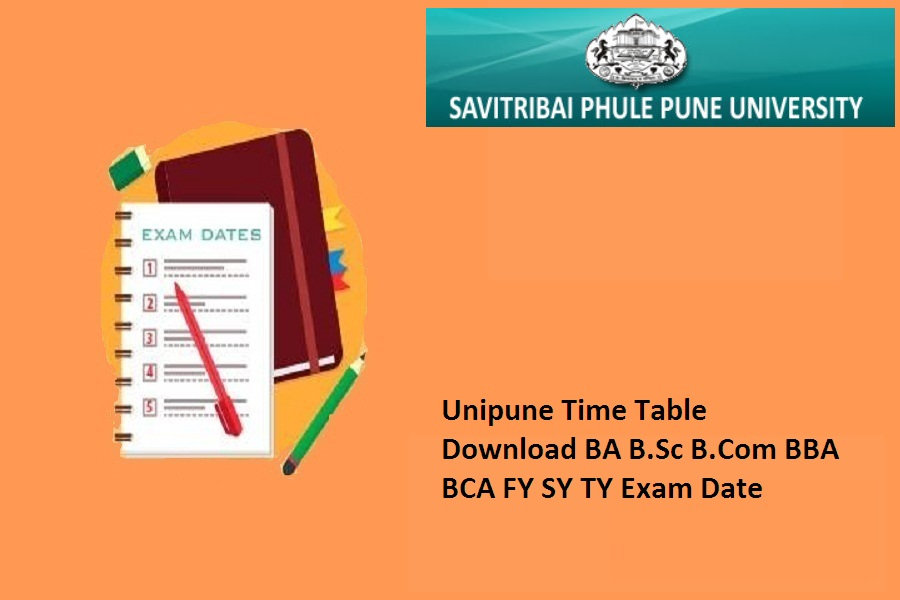 Unipune Time Table 2021