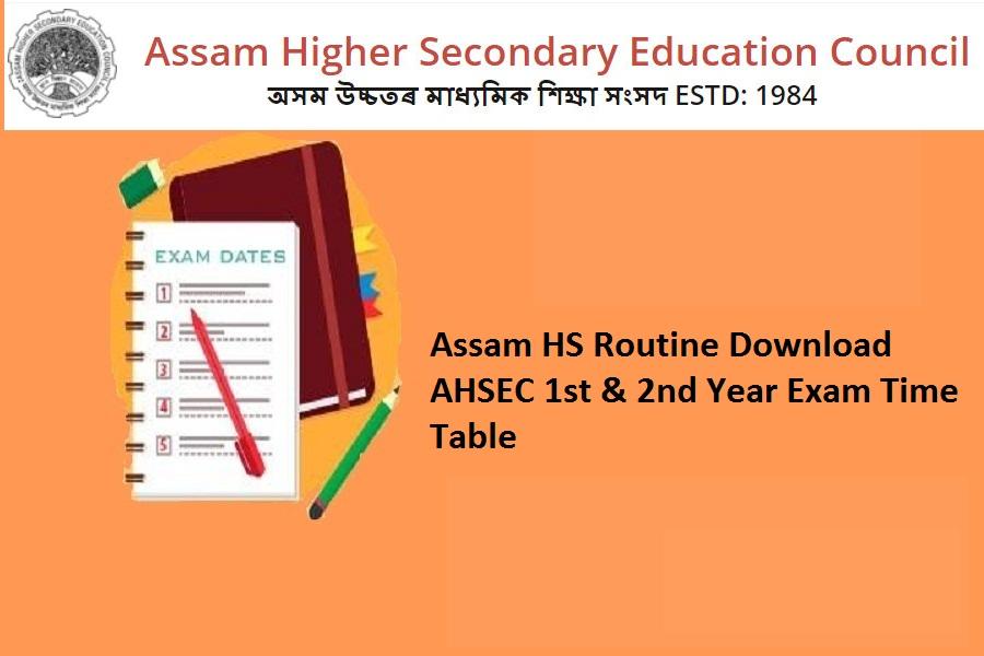 Assam hs routine 2022