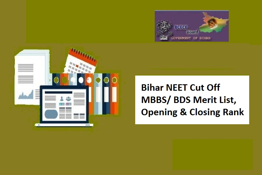 Bihar NEET Cut Off 2021